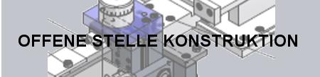 Konstrukteur Maschinenbau – Teilzeitpensum